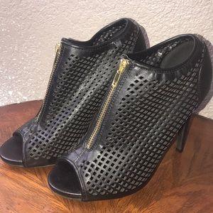 Steve Madden black booties. Size 8